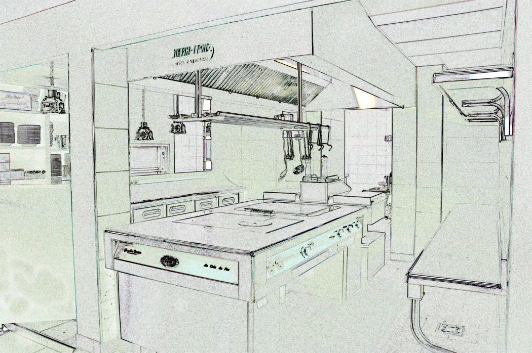 Conception et aménagement de cuisine professionnelle à Saint Malo (Ille et Vilaine - 35)